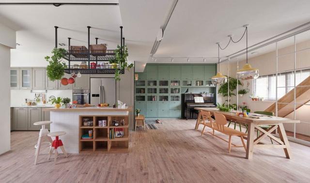 Căn hộ có thiết kế nội thất đẹp như mơ của cặp vợ chồng trẻ - Ảnh 1.