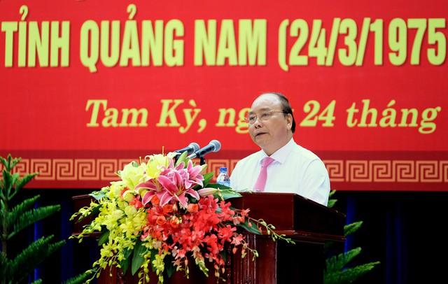 Thủ tướng mong Quảng Nam tạo cực tăng trưởng mới - Ảnh 1.
