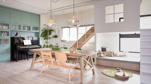 Căn hộ có thiết kế nội thất đẹp như mơ của cặp vợ chồng trẻ - Ảnh 3.