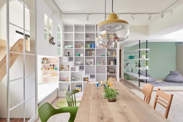 Căn hộ có thiết kế nội thất đẹp như mơ của cặp vợ chồng trẻ - Ảnh 8.