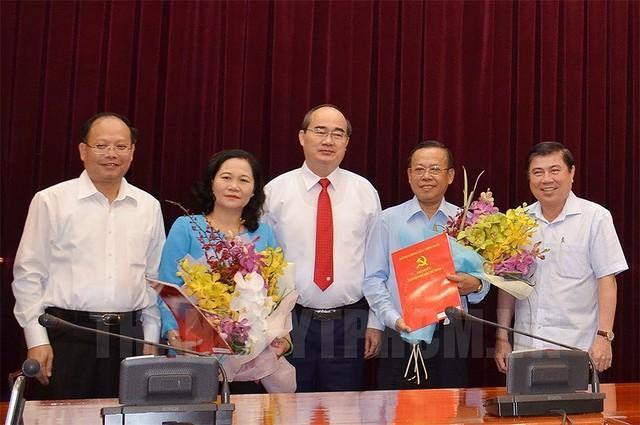 Bà Nguyễn Thị Lệ làm Trưởng Ban Tổ chức Thành ủy TP.HCM - Ảnh 1.