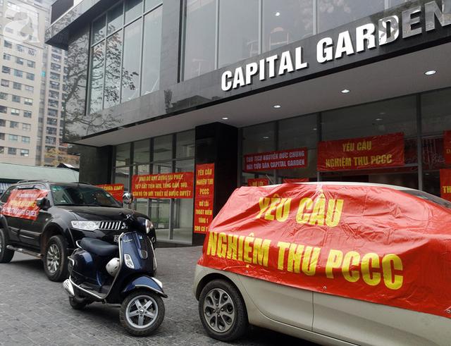 Sau vụ hỏa hoạn tòa nhà Carina khiến 13 người chết: Nhiều chung cư Hà Nội hốt hoảng kêu cứu - Ảnh 4.