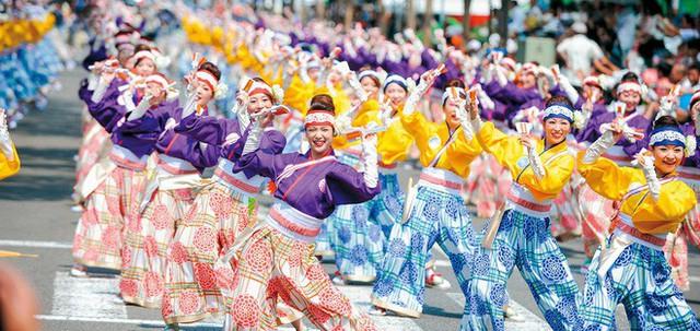 Câu chuyện về Yosakoi: Điệu nhảy vực tinh thần Nhật Bản sau chiến tranh rồi trở nên nổi tiếng toàn thế giới - Ảnh 5.