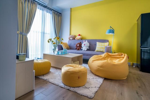 Chỉ với 80 triệu đồng nội thất, căn hộ từng được hàng nghìn người xếp hàng mua đẹp như mơ - Ảnh 2.