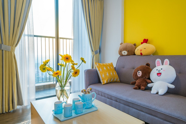 Chỉ với 80 triệu đồng nội thất, căn hộ từng được hàng nghìn người xếp hàng mua đẹp như mơ - Ảnh 3.