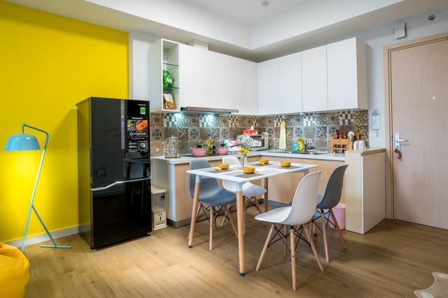 Chỉ với 80 triệu đồng nội thất, căn hộ từng được hàng nghìn người xếp hàng mua đẹp như mơ - Ảnh 4.
