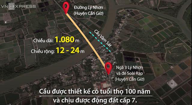 Hàng vạn người dân Tp.HCM sẽ hết sức vui mừng khi cây cầu gần 350 tỷ đồng này bắt đầu được xây dựng - Ảnh 1.