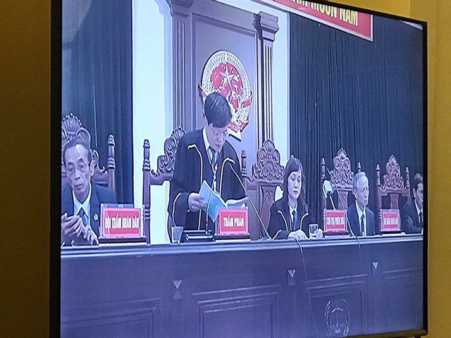 Phiên tòa 29/3: Tòa bắt đầu tuyên án với bị cáo Đinh La Thăng và 6 cựu lãnh đạo PVN - Ảnh 1.