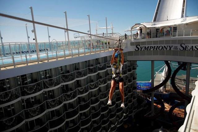 Ảnh: Cuộc sống siêu xa hoa trên du thuyền lớn nhất thế giới - Ảnh 6.