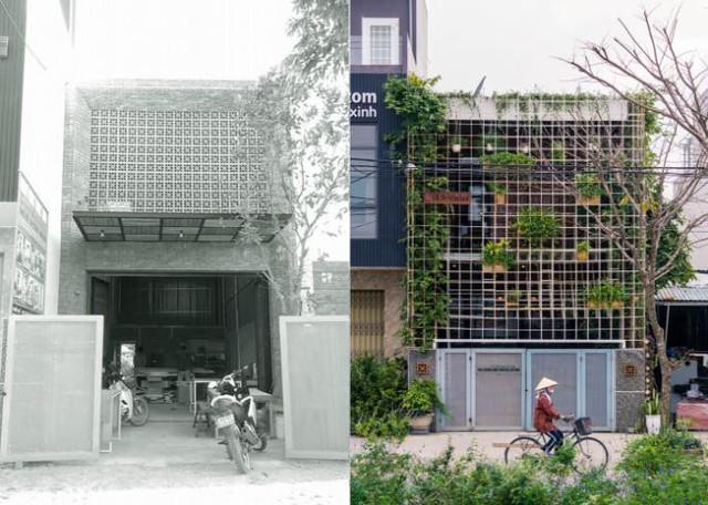 Căn nhà ống hai tầng từ xưởng gỗ cũ ở Đà Nẵng đẹp lung linh trên báo ngoại - Ảnh 2.