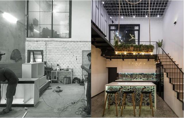 Căn nhà ống hai tầng từ xưởng gỗ cũ ở Đà Nẵng đẹp lung linh trên báo ngoại - Ảnh 3.