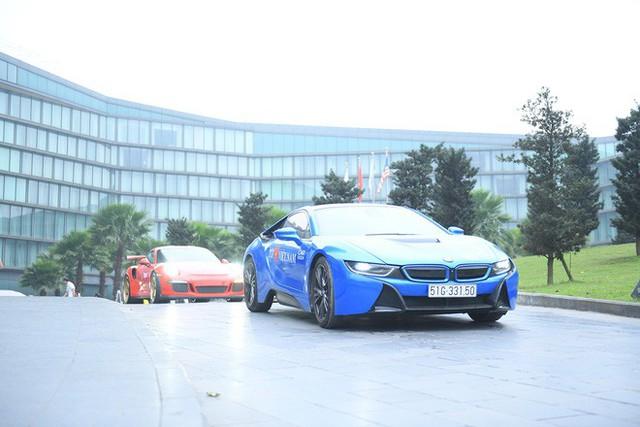 Cường Đô La dẫn đầu đoàn thẳng tiến Lào Cai, bắt đầu hành trình siêu xe Car & Passion 2018 - Ảnh 1.