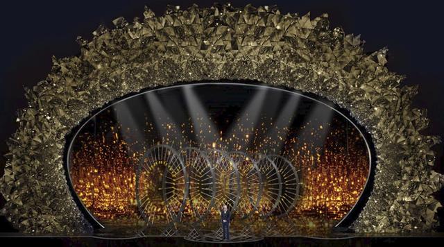 Bí mật sân khấu Oscar 2018: 45 triệu viên pha lê Swarovski đắt đỏ tạo nên màn tiệc mê hoặc - Ảnh 3.