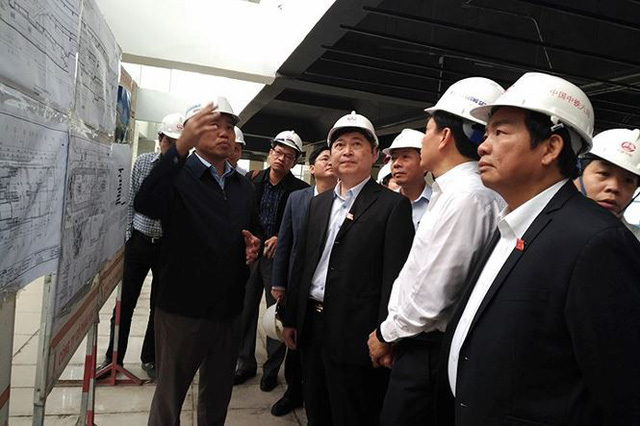 Toàn bộ 13 đoàn tàu Cát Linh - Hà Đông về tới dự án - Ảnh 1.