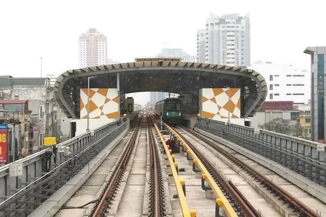 Toàn bộ 13 đoàn tàu Cát Linh - Hà Đông về tới dự án - Ảnh 2.