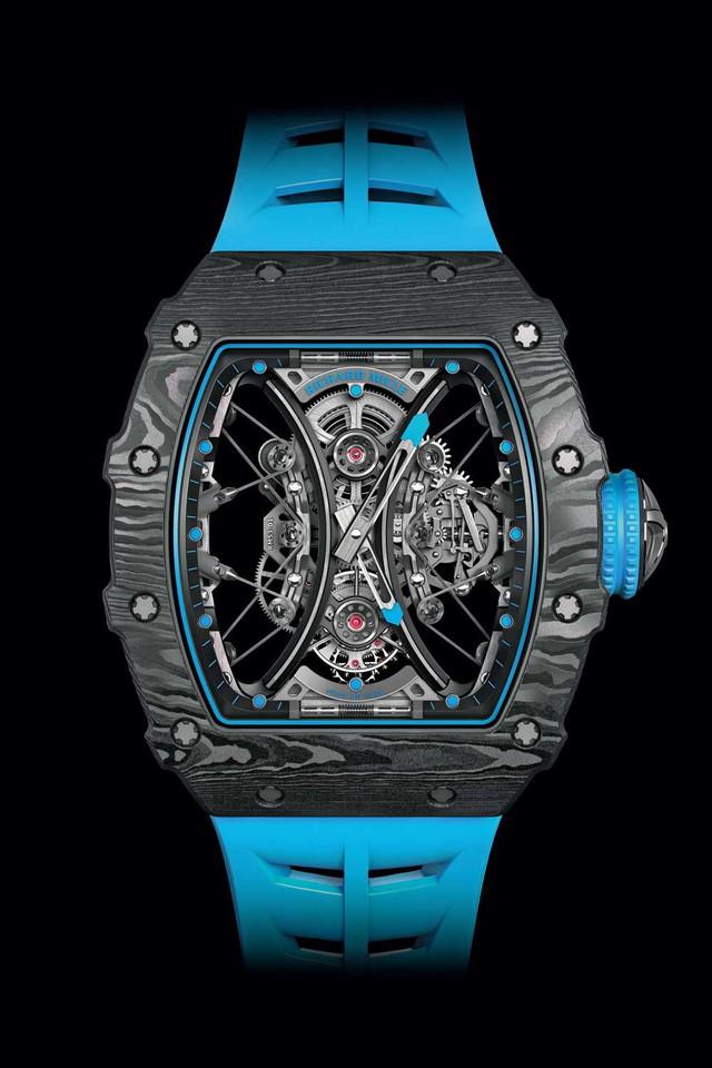 Lấy cảm hứng từ môn thể thao quý tộc Polo, Richard Mille bán đồng hồ với giá gần 1 triệu USD - Ảnh 2.