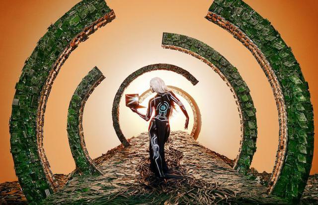 Nhóm nghệ sĩ biến gần 2 tấn rác thải điện tử thành những tác phẩm nghệ thuật tuyệt đẹp - Ảnh 1.