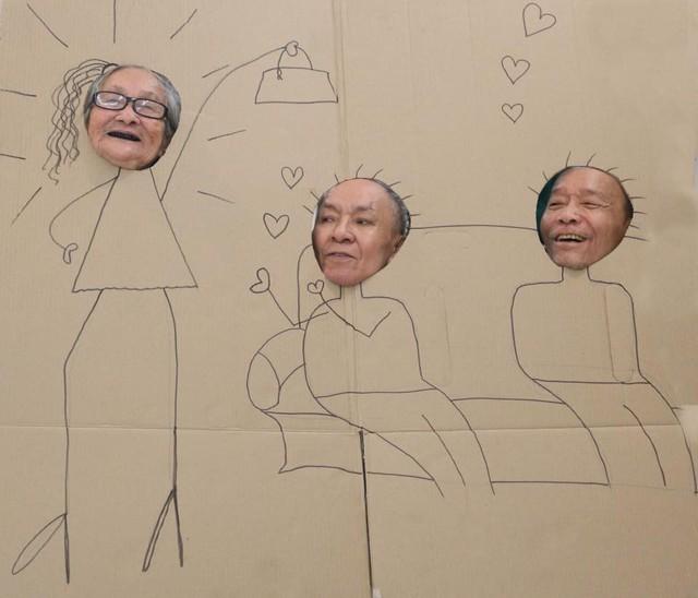 Hình ảnh lạ trong viện dưỡng lão và câu chuyện xúc động đằng sau đó - Ảnh 3.
