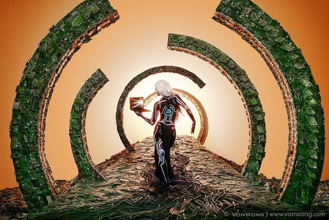 Nhóm nghệ sĩ biến gần 2 tấn rác thải điện tử thành những tác phẩm nghệ thuật tuyệt đẹp - Ảnh 7.