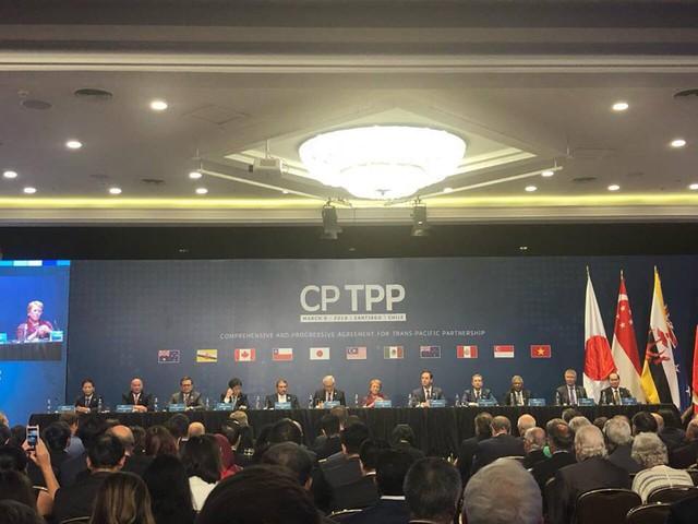 Chính thức ký kết CPTPP: 11 Bộ trưởng phụ trách kinh tế trao đổi những gì ở Chile? - Ảnh 2.