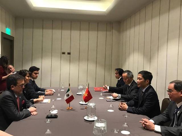 Chính thức ký kết CPTPP: 11 Bộ trưởng phụ trách kinh tế trao đổi những gì ở Chile? - Ảnh 1.