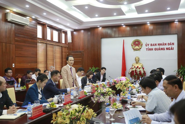 """Tập đoàn FLC sẽ triển khai """"siêu"""" dự án 3.890 ha tại Quảng Ngãi - Ảnh 1."""