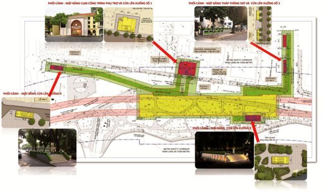 Ga tàu điện ngầm Thứ nhất ở Hồ Gươm trông thế nào? - Ảnh 3.