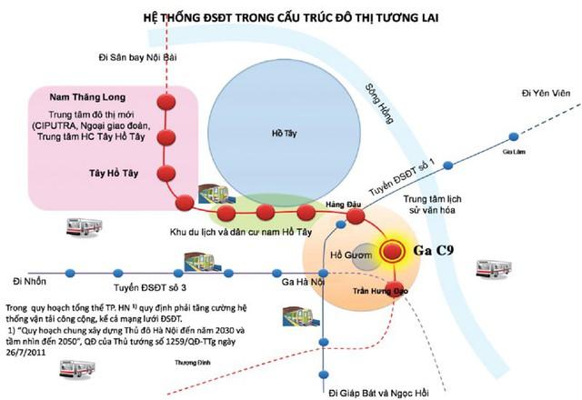 Ga tàu điện ngầm Thứ nhất ở Hồ Gươm trông thế nào? - Ảnh 1.