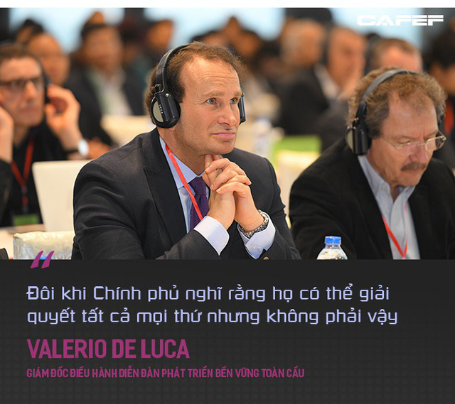 Giám đốc điều hành Diễn đàn Phát triển bền vững toàn cầu: Việt Nam nên nhìn vào Trung Quốc trong vấn đề tăng trưởng nhanh và giải quyết biến đổi khí hậu - Ảnh 3.