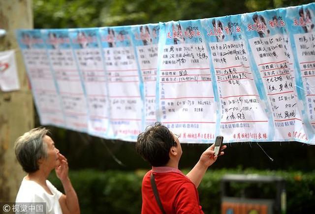 Bi hài chuyện môi giới hôn nhân ở Trung Quốc - Ảnh 1.