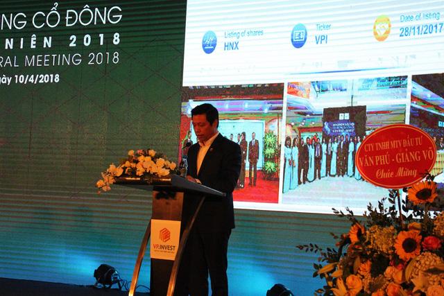 ĐHCĐ Văn Phú Invest (VPI): Đặt mục tiêu tổng doanh thu 2018 tăng 2,7 lần, chuẩn bị cổ tức 16% và chuyển niêm yết sang HoSE - Ảnh 1.