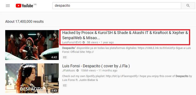 Hacker vừa thổi bay MV hàng tỷ view trên YouTube tiết lộ luôn nạn nhân tiếp theo của mình - Ảnh 1.