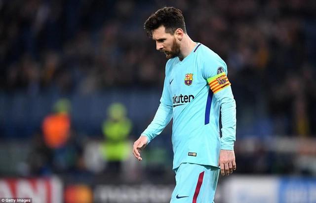 Chấn động: Barcelona bị loại đầy cay đắng sau cuộc lội ngược dòng không tưởng của AS Roma - Ảnh 3.