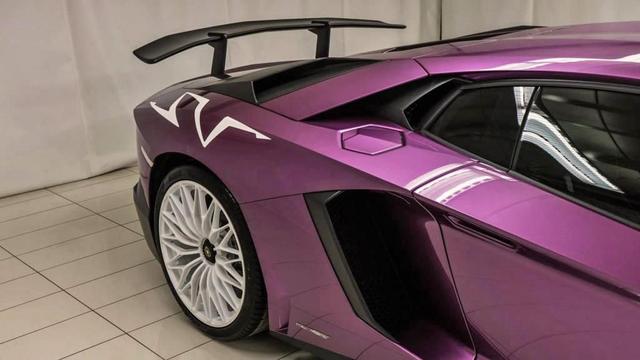 Chiêm ngưỡng siêu xe cực hiếm Lamborghini Aventador phiên bản màu tím đầy mê hoặc - Ảnh 2.
