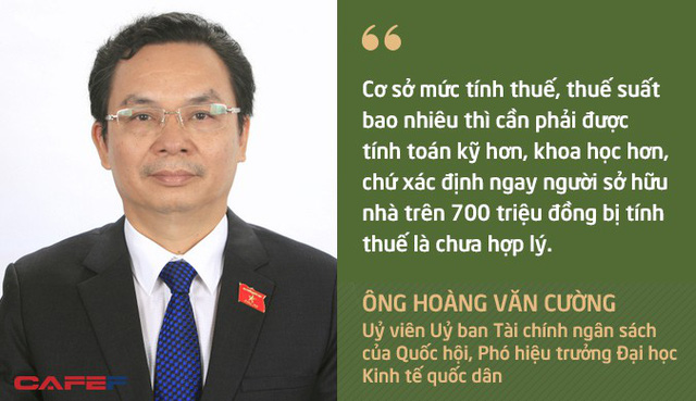 Quan điểm trái chiều của chuyên gia về đề xuất đánh thuế nhà trên 700 triệu đồng của Bộ Tài chính - Ảnh 2.