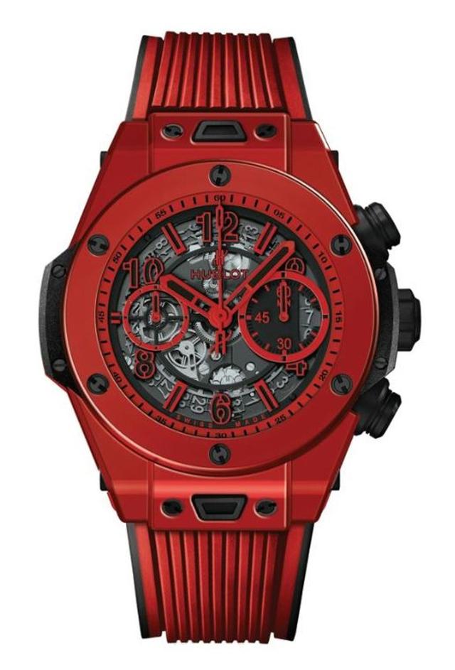 Hublot ra mắt mẫu đồng hồ gốm Ceramic đỏ thắm ấn tượng tại Baseworld 2018, cả thế giới chỉ có 500 chiếc - Ảnh 1.