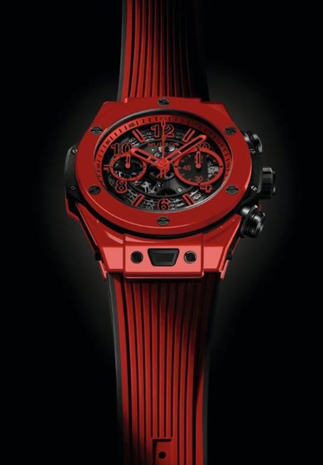 Hublot ra mắt mẫu đồng hồ gốm Ceramic đỏ thắm ấn tượng tại Baseworld 2018, cả thế giới chỉ có 500 chiếc - Ảnh 2.