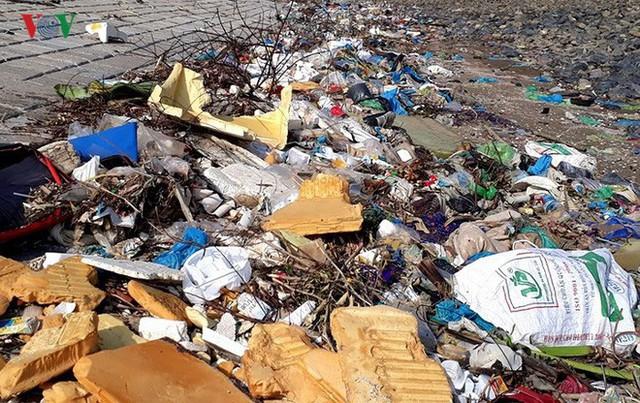 Ảnh: Kinh hoàng rừng cây treo đầy rác ở Thanh Hoá - Ảnh 3.