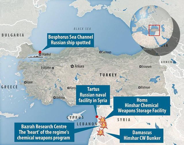 Nga cấp tốc chở vũ khí sang tiếp sức cho Syria: Hầm tàu chất đầy tên lửa phòng không? - Ảnh 5.