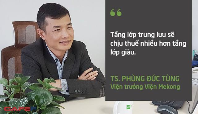 Viện trưởng Viện Mekong: Thuế tài sản sẽ đánh vào tầng lớp trung lưu nhiều hơn là tầng lớp giàu - Ảnh 1.