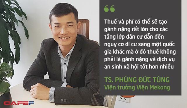 Viện trưởng Viện Mekong: Thuế tài sản sẽ đánh vào tầng lớp trung lưu nhiều hơn là tầng lớp giàu - Ảnh 2.