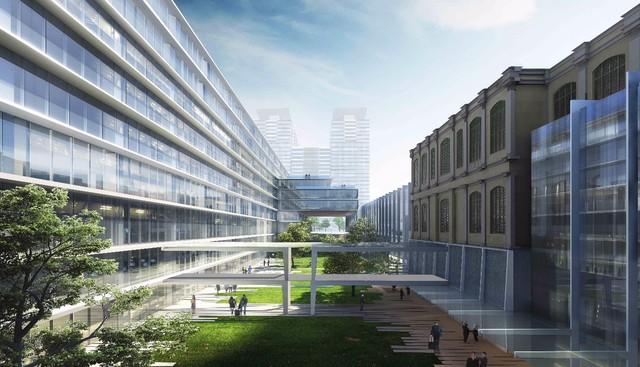 Trung tâm hành chính TP.HCM trong tương lai đẹp như khách sạn 5 sao - Ảnh 6.