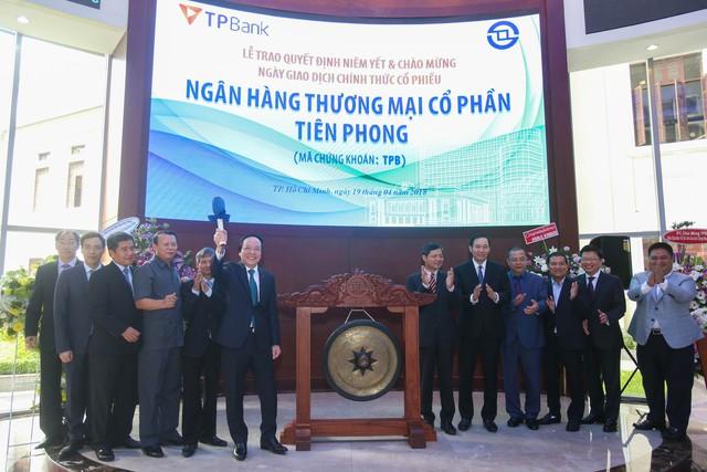 Cổ phiếu TPBank chính thức chào sàn HOSE - Ảnh 1.