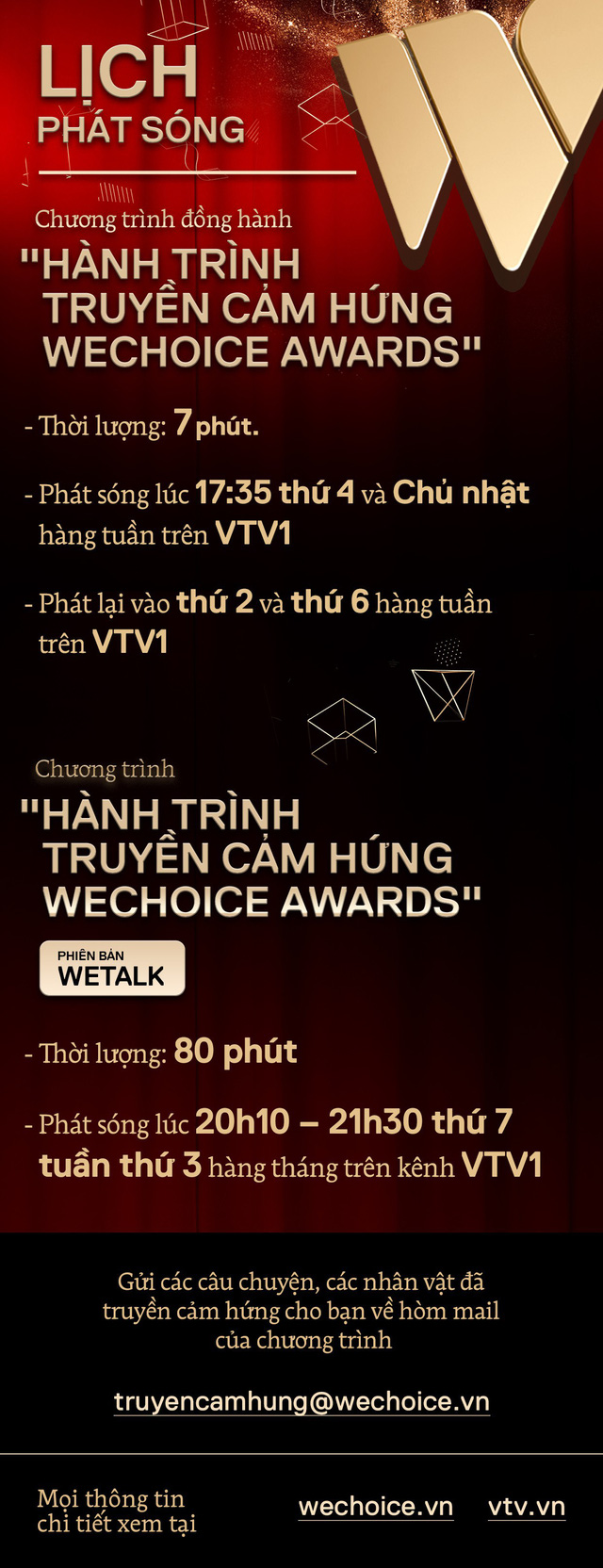 WeChoice Awards: Chương trình Hành trình truyền cảm hứng đã chính thức phát sóng! - Ảnh 2.