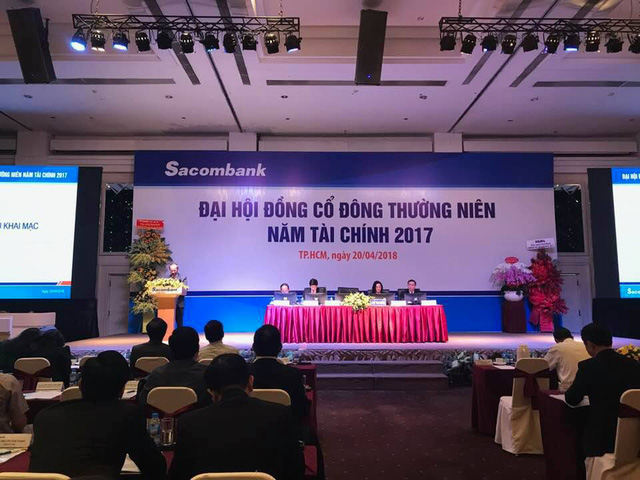 ĐHCĐ Sacombank: Quyết liệt các phương án tái cơ cấu, mục tiêu lãi hơn 1.800 tỷ - Ảnh 1.