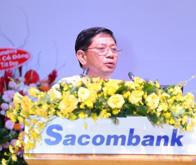 ĐHCĐ Sacombank: Xin sửa đề án tái cơ cấu để trả cổ tức cho cổ đông, mục tiêu lãi hơn 1.800 tỷ - Ảnh 1.