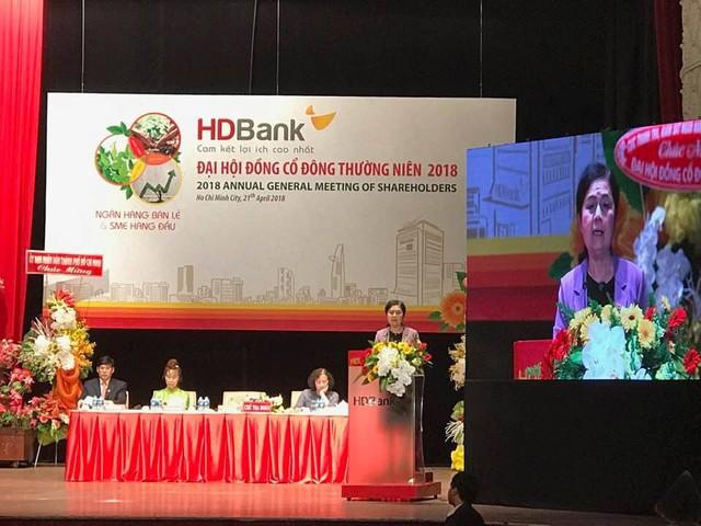 [Live] ĐHCĐ HDBank: Trình cổ đông đề án nhận sáp nhập PGBank, mục tiêu lãi hơn 3.900 tỷ trong năm nay - Ảnh 1.