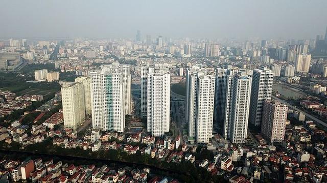 Ngộp thở ở những khu chung cư dày đặc, chọc trời giữa Thủ đô - Ảnh 2.