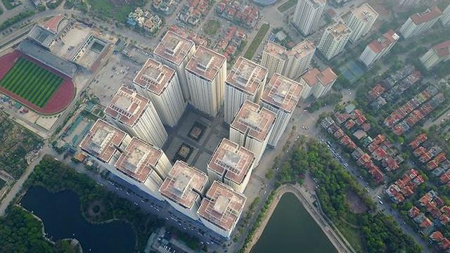 Ngộp thở ở những khu chung cư dày đặc, chọc trời giữa Thủ đô - Ảnh 4.