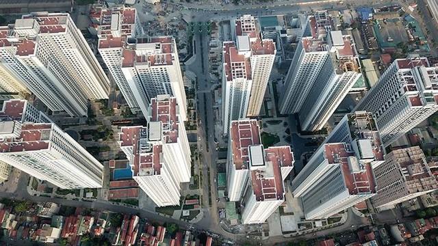 Ngộp thở ở những khu chung cư dày đặc, chọc trời giữa Thủ đô - Ảnh 6.